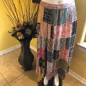 ANA & KATE Pattern Skirt Size L